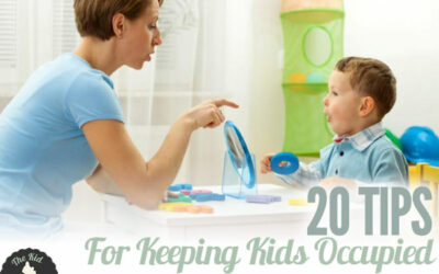 20 Easiest Keep Kids Occupied Tips