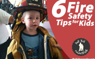6 helpful tips for kids learned at a visit to the Fire Station