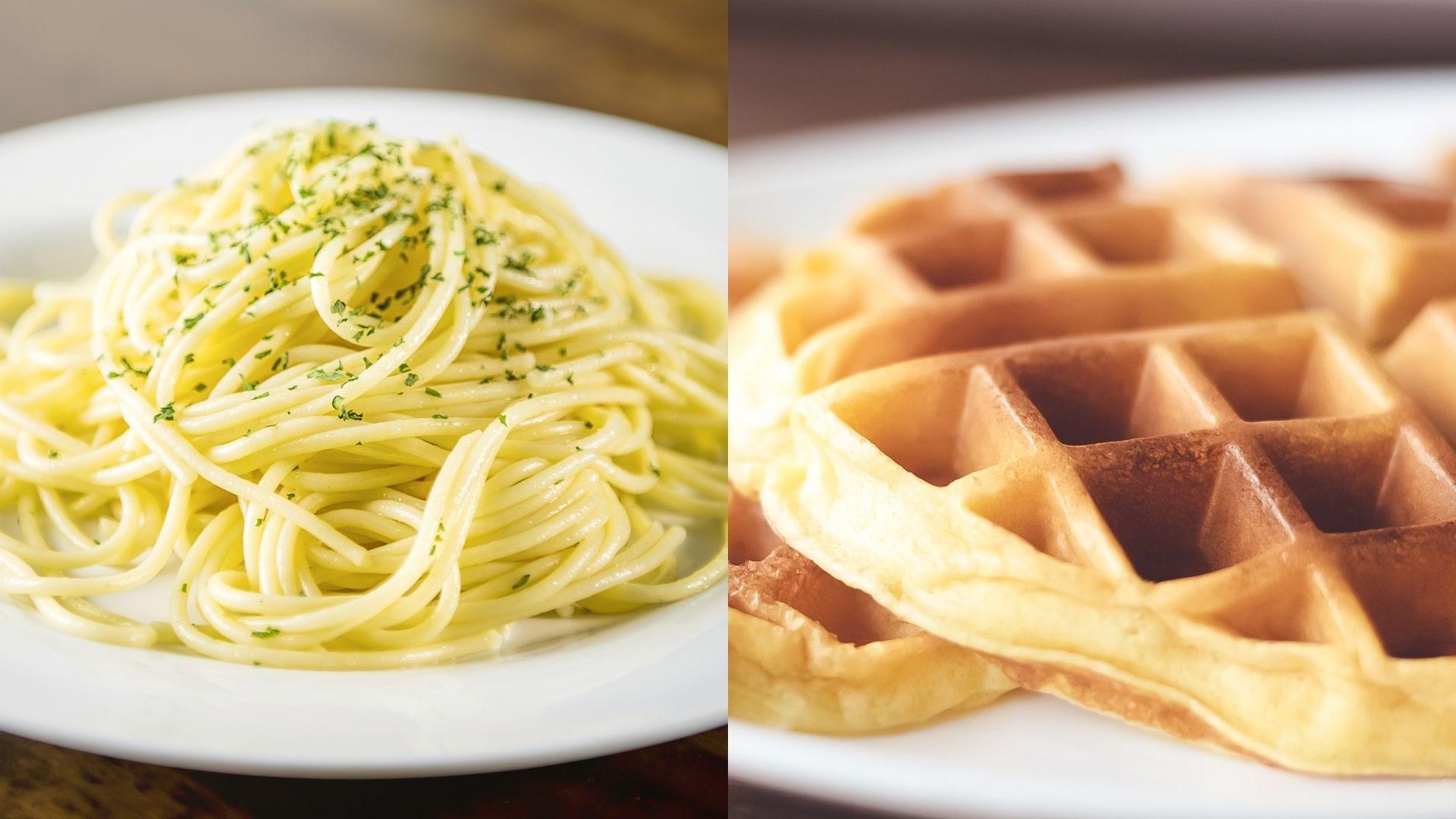 Play Therapy (spaghetti) vs. Talk Therapy (waffles) : A Comparison