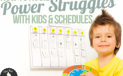 How to Avoid Power Struggles with Kids and Schedules