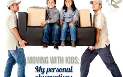 Moving with Kids – My Personal Observations