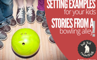 Setting Examples for Your Kids: More From the Bowling Alley